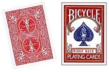 """DOUBLE SHOCK DECK - AKA """"INCREDIBLE"""" by PETER DUFFIE - BICYCLE POKER SIZE CARDS"""