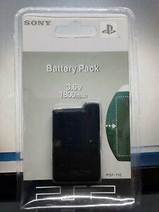 Rechargeable Battery for Sony PSP-110 PSP-1001 PSP 1000 Fat New 3.6V 1800mAh