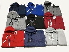 NEW Polo Sweat Suit Ralph Lauren Men's Full Zip Suit Hoodie + Sweat Pants