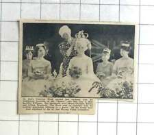 1964 Miss Jennifer Williams Crowned Carnival Queen St Just