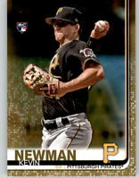 2019 Topps Series 2 KEVIN NEWMAN Gold Parallel /2019 Pirates Rookie #471