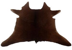 """Cowhide Rugs Calf Hide Cow Skin Rug (25""""x25"""") light Brown CH8202"""