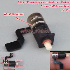Ultra Mini 6mm Planetary Gear Box Precise Micro 2-phase 4-wire Stepper Motor