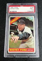 New York Yankees Whitey Ford 1966 Topps #160 PSA 7.5 Near Mint+