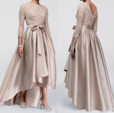 Applique Mother of the Bride Groom Evening Dress Sequin 3/4 Sleeve Prom Dresses
