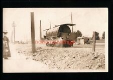 More details for canada steam engine for cleaning railway lines / tracks postcard e20c - can15