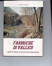 FABBRICHE  DI  VALLICO aspetti della cultura del territorio , VERGEMOLI , Lucca