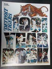 Detroit Tigers Baseball Original Vintage Yearbooks