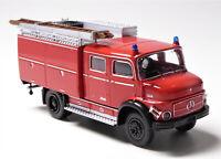 H0 BREKINA Mercedes Benz MB LAF 1113 TLF 16 Gerätekoffer Löschfahrzeug # 47160