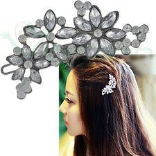 Fermaglio Flower strass acconciatura sposa accessori capelli matrimonio  evento 208b509dce7d