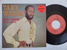 TANY WELCK Sexy man DPLS 121 Afrobeat Disco funk Pressage FRANCE RRR