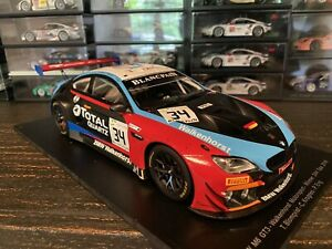 BMW M6 GT3 #34 WINNER 24H SPA (2018) 1/18 MODEL CAR BY SPARK 18SB010