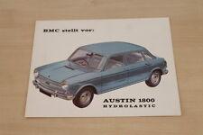 181555) Austin 1800 Hydrolastic Prospekt 196?