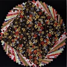 Sakura Cherry Blossom Flower YUZEN JAPANESE ORIGAMI PAPER Chiyogami 10dsg 14.5cm