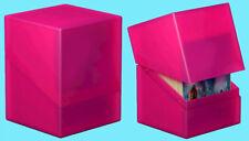 ULTIMATE GUARD BOULDER RHODONITE Standard Size DECK CASE 100+ Card Storage Box