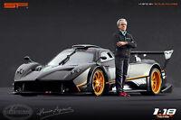 1:18 Horacio Pagani VERY RARE!!! figurine NO CARS !! for diecast by SF