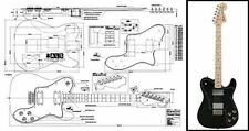 Fender Telecaster® Deluxe Electric Guitar Plan
