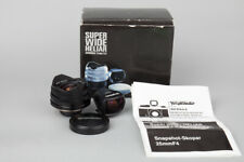 Voigtlander Super Wide Heliar Aspherical 15mm f/4.5 Lens, for M39 L39 Mount BLK