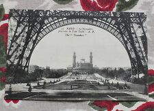 CPA Paris - Le Trocadéro pris sous la Tour Eiffel