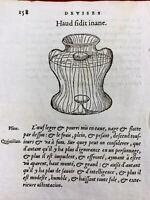 Rare Gravure sur Bois de 1557 Œuf Pline