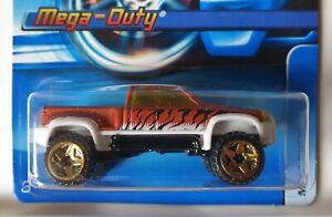 Hot Wheels 2006 Mainline #167 MEGA-DUTY - HTF Off-Road 5sp Wheel Variation RARE