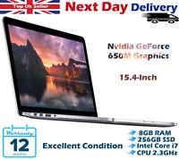 Apple MacBook Pro 15.4-Inch Retina Core i7 2.3GHz 8GB RAM 256GB SSD 2012 A Grade