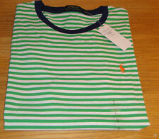 Ralph Lauren Men's Fitted Striped Polo Casual Shirts & Tops