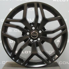 "GENUINE RANGE ROVER SPORT L494 STYLE 17 22"" SATIN BLACK SINGLE ALLOY WHEEL X1"