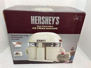HERSHEY'S Dual Single Serve Ice Cream Machine IC13887