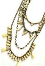 Multi-Strand Necklace~Neon~Krn0069~$14 9 Msrp Silpada Kr Brass Swarovski Crystal