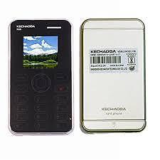 Kechaoda K66 Mini ultra slim credit card size Mobile bluetooth dialler new