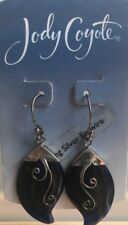 Jody Coyote Earrings JC0662 Indigo Collection ID-0311-02 Silver blue