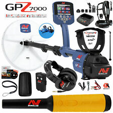 Minelab Gpz 7000 All Terrain Gold Metal Detector with Pro Find 35 Pinpointer
