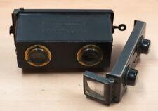 Le Glyphoscope Stereo 3D Kamera Camera Jules Richard Paris Rarität!