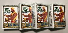 4 Starter Decks - HULK HOGAN - WWE Raw Deal Summerslam, Summer Slam - Brand New