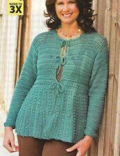 It'S In The Details Jacket Sweater Women'S Crochet Pattern Instructions