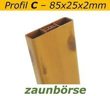 """Musterstück - Zaunlatte C (85x25x2mm) """"astfichte"""" Profiware Gartenzaun Staketen"""