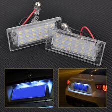 2pcs 18 LED License Plate Light Lamps For BMW X5 E53 X3 E83 2000-15 Error Free