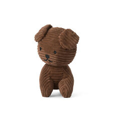 """SNUFFY THE DOG CORDUROY BROWN 7"""" MIFFY SOFT TOY PLUSH DICK BRUNA COLLECTABLE"""