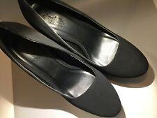 Charlotte Russe Black velvet stiletto Heels Size 8 NIB Mackenna-01
