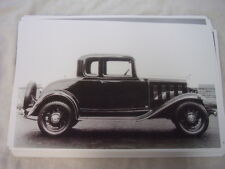 1932 CHEVROLET  5 WINDOW 11 X 17  PHOTO PICTURE