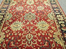 Agra Pattern Oriental Rug Indian Hill Rug Dealer'S Estate Hand Woven Carpet