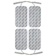 4 Stk.  100x50mm Bandscheibe Elektroden Pads TENS Reizstromgerät Reizstrom Gerät
