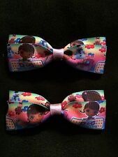 Doc Mcstuffins Hair Bows with Alligator Clips