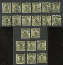 China 1913 Matasellos seleccionado Nativa... 20 Sellos