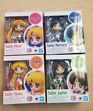 Lot of 4 NEW Sailor Moon Mini Figuarts Mercury Venus Jupiter Bandai