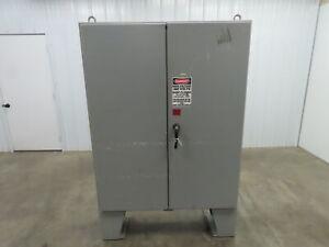 "Saginaw SCE604812LP Electrical Enclosure Cabinet JIC Hinged Back Plate 60x48x12"""