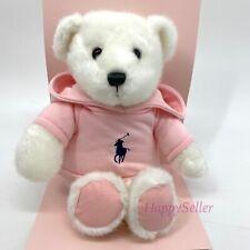 Ralph Lauren Teddy Bear Pink Romance with Polo Sweatshirt Limited Edition NIB