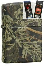 Zippo 24072 realtree advantage max Lighter with *FLINT & WICK GIFT SET*