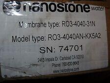 NEW Nanostone Reverse Osmosis 4040 Filter Model: RO3-4040-31N